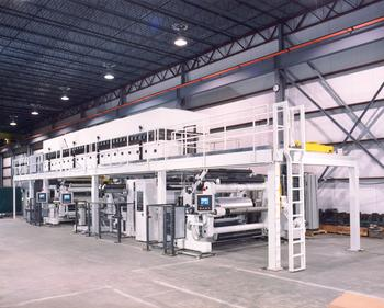 Complete Converting Lines Coating Line with Laminator for Film and Foil